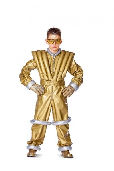 Junge im Astronauten-Kostüm aus Burda Schnittmuster zum Kinderfasching