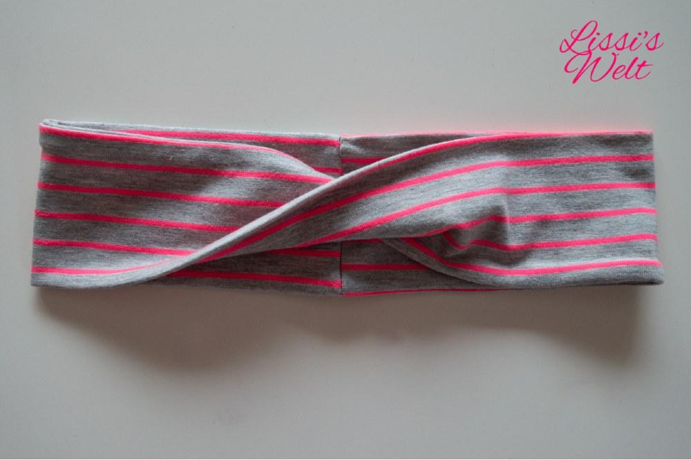 fertiges Haarband selbst genäht